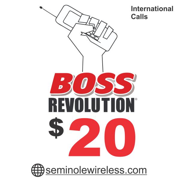 $20 BOSS Revolution